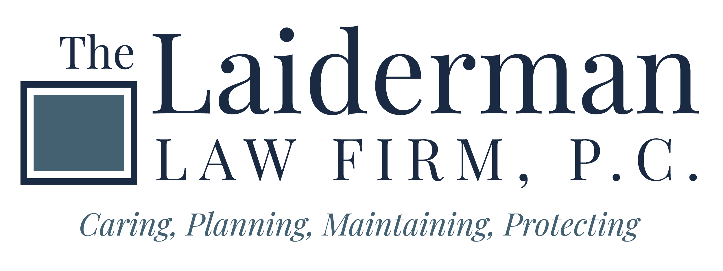 The Laiderman Law Firm, P.C. Logo